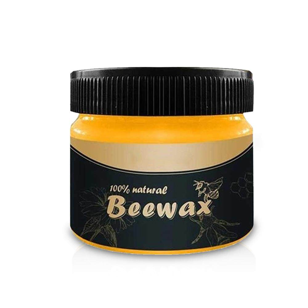 G&B Wood Seasoning Beewax - Traditional Beeswax Polish for Wood & Furniture, All-Purpose Beewax for Wood Cleaner and Polish Wipe Multipurpose Natural Beeswax