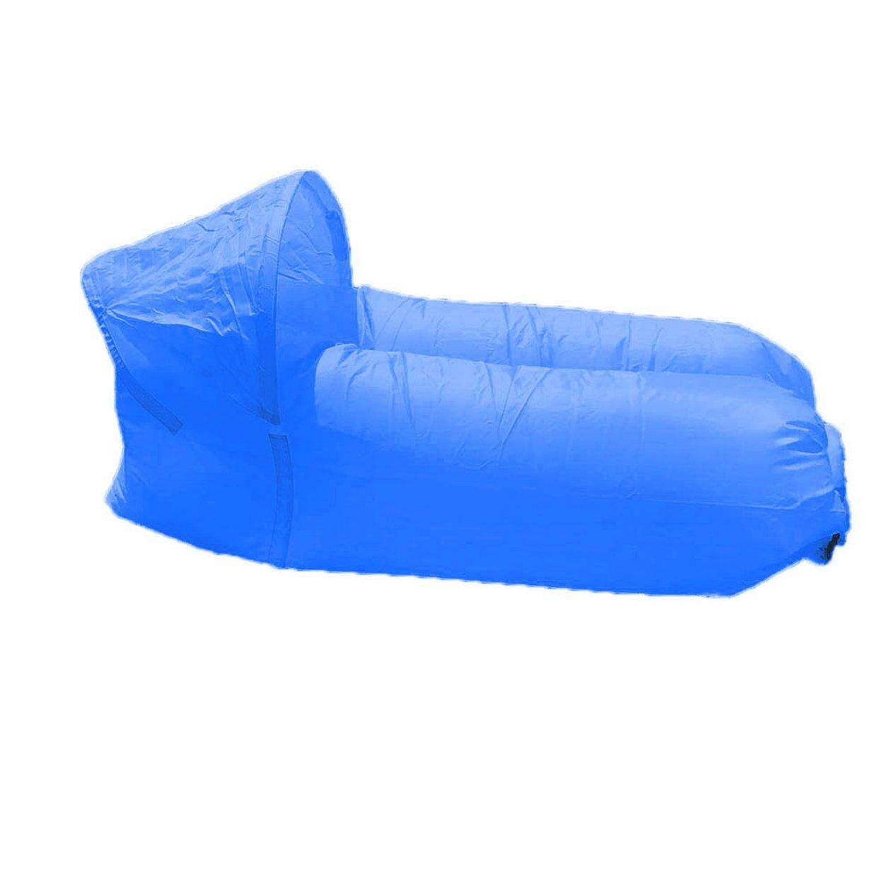 Hot Sellers Portable Travel Lying Bed Lazy Air Cushion Inflatable sofa camping sleeping