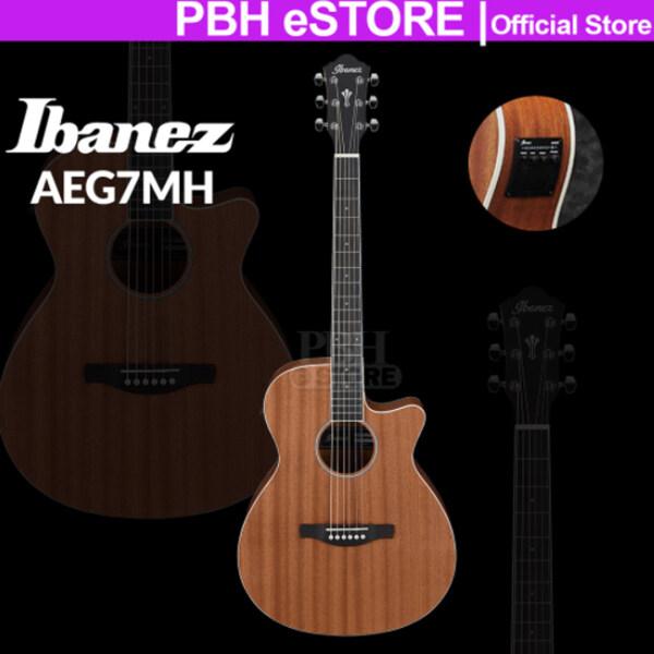 Ibanez Acoustic Guitar AEG7MH Sapele Standard Open Pore Natural AEG7MH-OPN AEG7MHOPN Guitar Malaysia