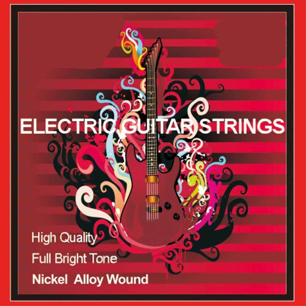 Electric Guitar Strings Stainless Steel Wrapped Around Stringed Instrument Accessories Strings By Zishine Shop.