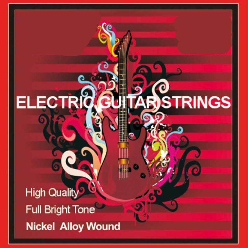 Electric Guitar Strings Stainless Steel Wrapped Around Stringed Instrument Accessories Strings Malaysia