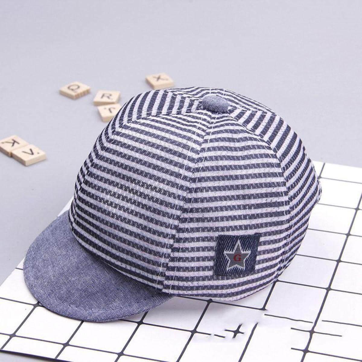 Musim Panas Bahan Katun Topi Bayi Imut Kasual Bergaris Bagian Atas Lembut  Topi Bisbol Anak Perempuan 6043035076