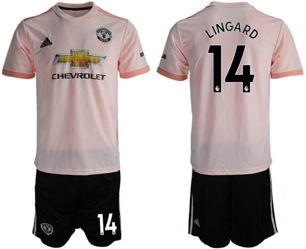 757aeedb17 Adīdas Official Premier League Manchester United #14 Away 2018-19 Season  Men Football Jersey