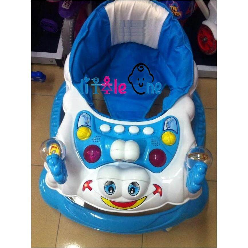 Little One Baby Walker Snail With Stopper With English Music! BEST SELLER!