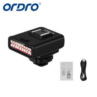 ORDRO LN-3 Đèn Hồng Ngoại Nhìn Ban Đêm Mini Đèn LED Hồng Ngoại Sạc USB Đèn LED Phòng Thu Hồng Ngoại Thiết Bị Thay Thế Đèn Hồng Ngoại Nhìn Ban Đêm Có Thể Sạc Lại USB Tương Thích Với Máy Ảnh DSLR, Đèn Chụp Ảnh thumbnail