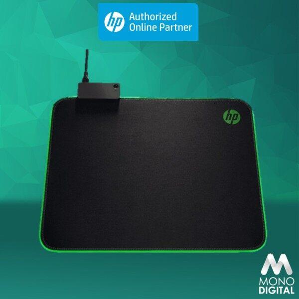 HP Pavilion Gaming Mouse Pad 400, Mousepad USB Pass Through, RGB LED, Anti-Fray & Non Slip (5JH72AA) Malaysia