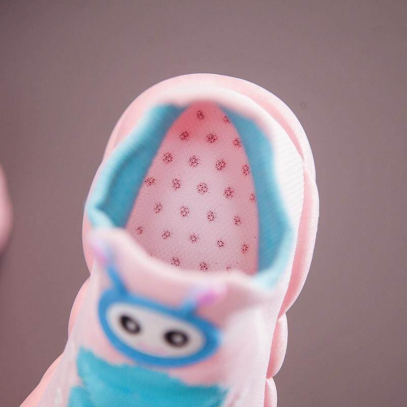 Trẻ Em Size 21-32 Giày Cao Su Cho Bé Gái Bán Đen Trường Giày Trẻ Em Bé Gái Giày dành Cho Trẻ Em Bé Trai Trẻ Em Thể Thao Sepatu Anak Bayi Laki Laki Sepatu Sekolah Anak Perempuan TK Trẻ Sơ Sinh Giày - 2