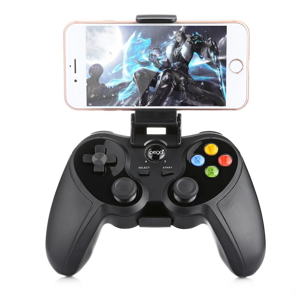 Ipega Pg - 9078 Universal Wireless Bluetooth Game Controller With Bracket Joystick Wireless Console For Android / Ios / Tv / Pc By Islandmall.