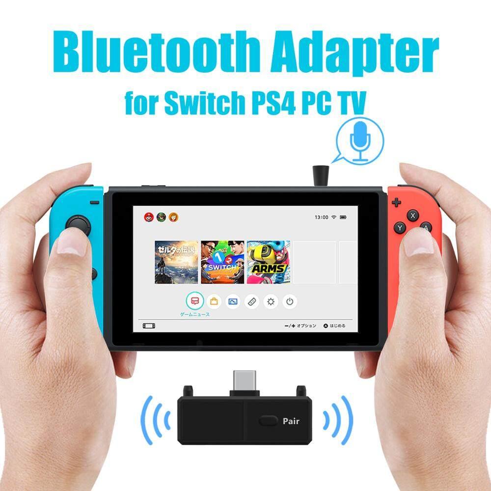 Bộ Chuyển Đổi Phát Âm Thanh Bluetooth 5.0 EDR A2DP SBC Độ Trễ Thấp, Bộ Phát Không Dây USB Type-C Cho Nintendo Switch PS4 TV PC