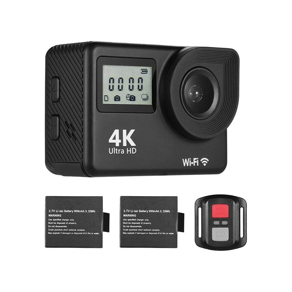 4K Ultra HD WiFi Sports Action Camera 18MP 170 Wide Angle 2.0 Inch LCD Screen 30 Meters Waterproof