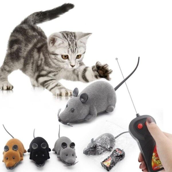 😸 Toys 🐶Wireless Remote Control Mouse Electronic RC Rat Mice Toy Malaysia