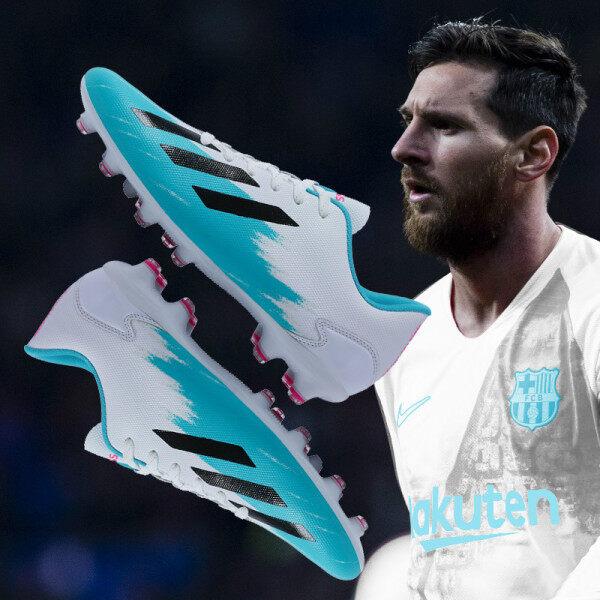 Giày Đá Bóng Hình Chú Vịt Messi F50 Mandarin, Cổ Thấp, Tập Luyện Thi Đấu Cho Trẻ Em Trung Niên Mới