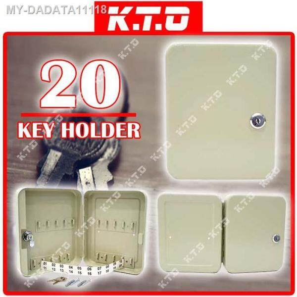20 KEYS HOLDER LOCKABLE SECURITY METAL KEY BOX STORAGE WALL MOUNTED