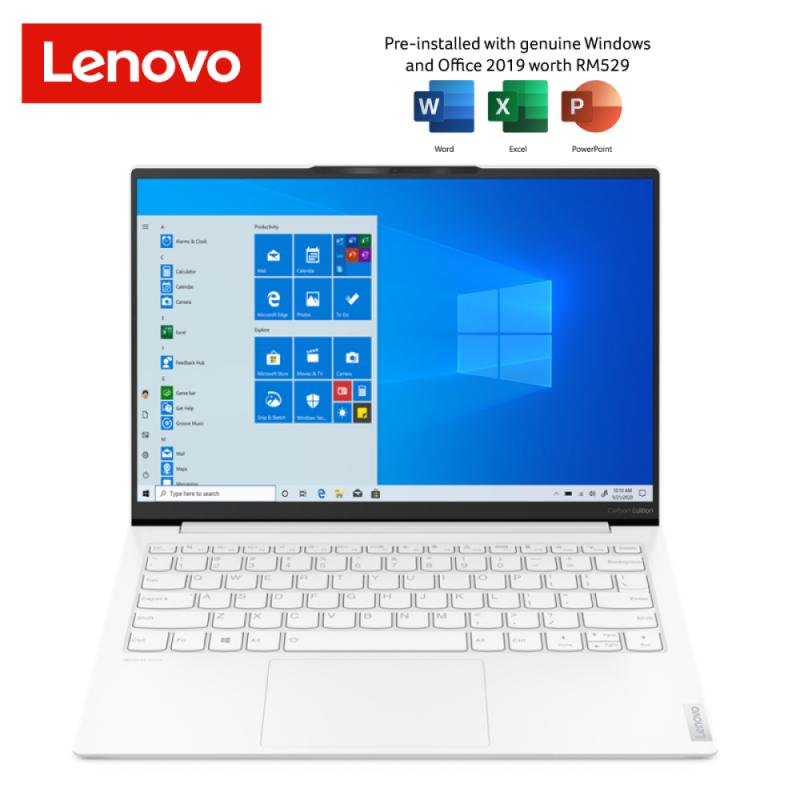 Lenovo Laptop New Yoga Slim 7 - 3ITL (13.3 Inch QHd / Intel Core i5 1135G7 (8M 2.5Ghz) / 8GB Ram / 512GB SSD / Intel Graphic / Windows 10 Free Microsoft Office Home & Student / 2 Years Warranty) Malaysia