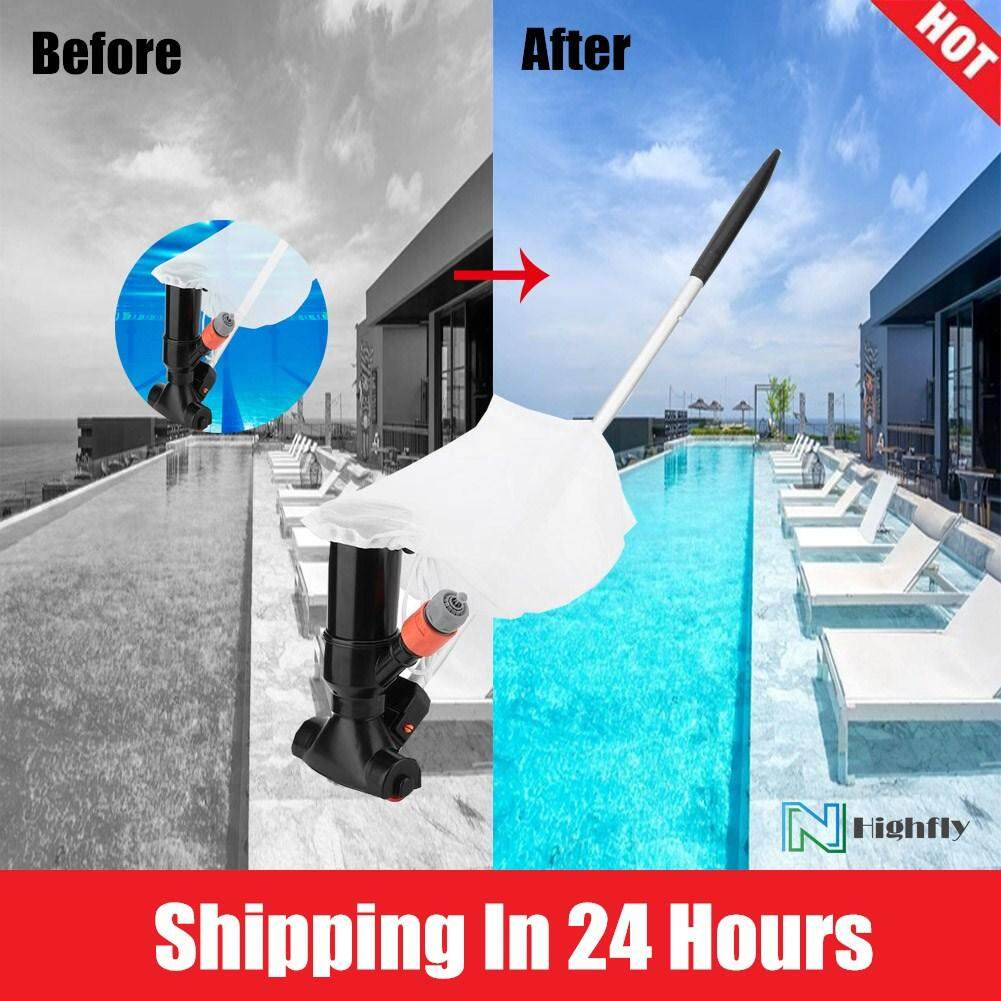 [Quality Assurance] Highfly Portable Swimming Pool Pond Fountain Vacuum Cleaner Cleaning Tool