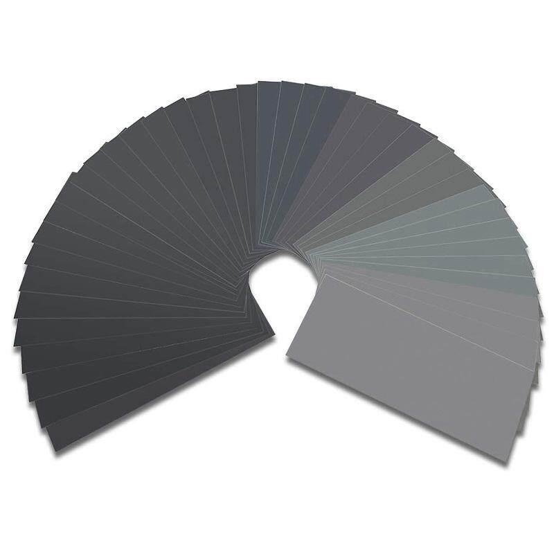 56Pcs Wet Dry Sandpaper 120 To 5000 Grit Assortment Abrasive Paper Sheets for Automotive Sanding