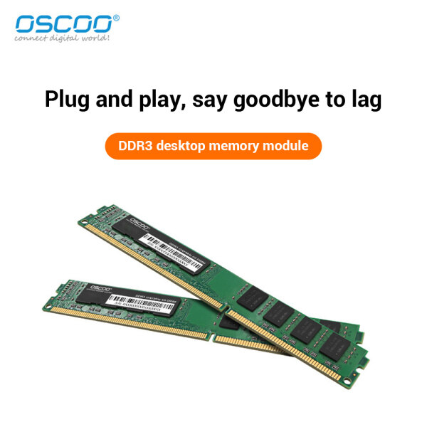 ELEVER OSCOO DDR3 RAM 2GB/4GB/8GB 1600MHz Bộ Nhớ UDIMM 240Pin Thanh Nhớ Bo Mạch Chủ Máy Tính, Dành Cho Máy Tính Để Bàn Nhà Văn Phòng