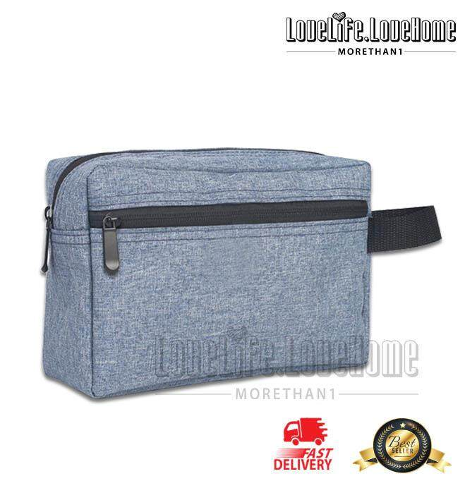 Ready Stock_Travel Small Bag Travel Bag Bathroom Bag Shaving Shower Cosmetic Organizer Toiletry