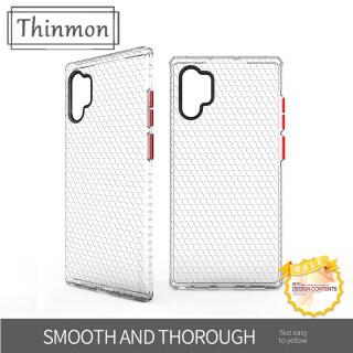 Ốp Chống Sốc Thinmon Ốp Cho Samsung Note 10 Note 10 Plus Pro Ốp Lưng Hybrid Armor Gồ Ghề Ốp Bảo Vệ Điện Thoại TPU + PC thumbnail