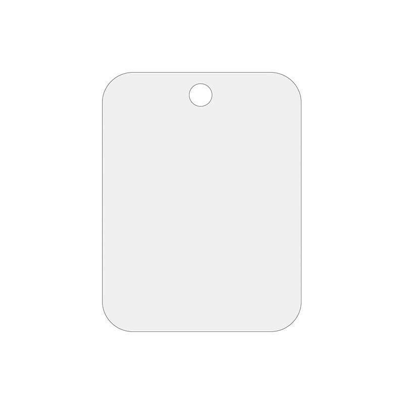 Acrylic Cermin Cukur Dinding dengan 13*17 Cm Perak Cermin Cukur