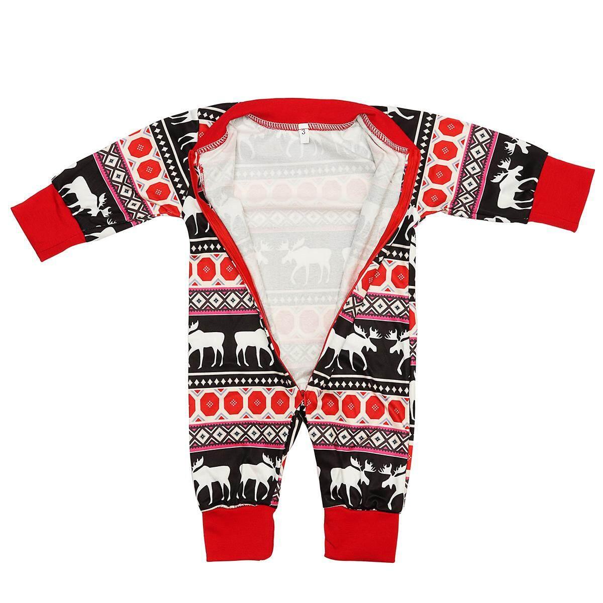 b6d87b3ac3 Women Men Kids Family Pajamas Set Home Sleepwear Nightwear Loungewear Moose  Fairy Warm Christmas Xmas
