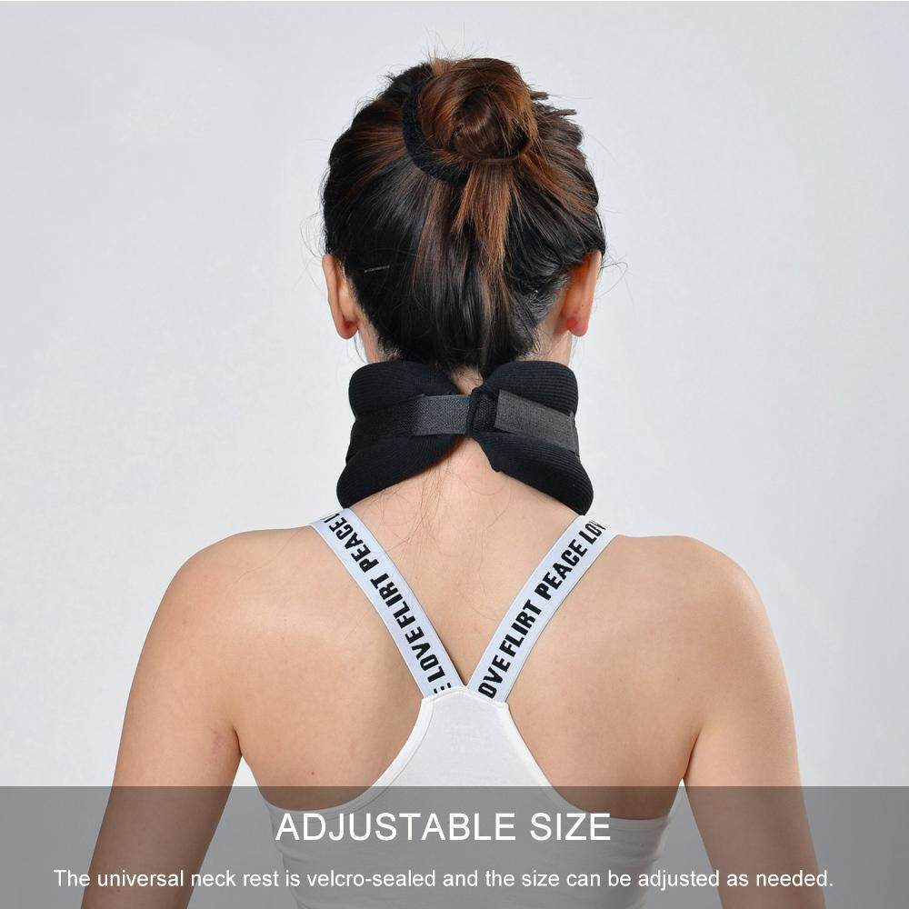 LightSmile Neck Support Adjustable Care Neck Braces Dislocation Fix  Cervical Collar Corrector Pain Relief