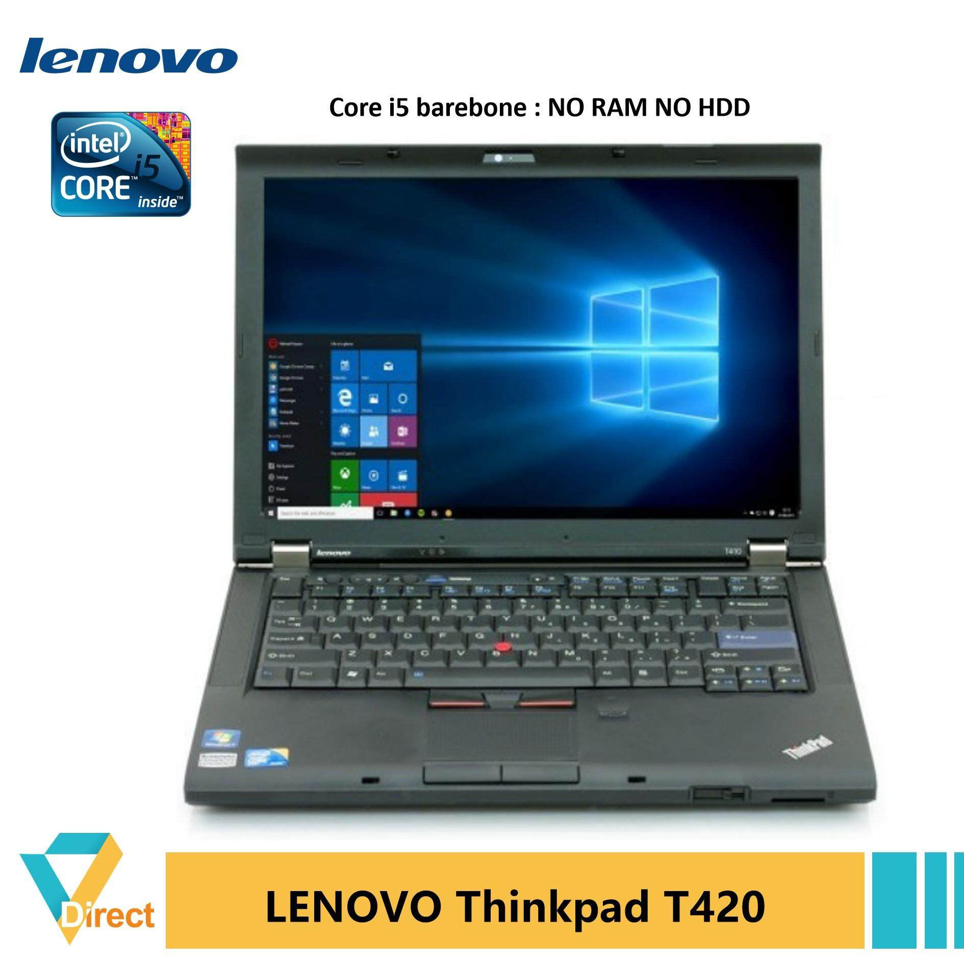 Up to 16GB RAM 1TB SSD Thinkpad T420 laptop PC Core i5 also 4GB 8GB 240GB 480GB SSD, 500GB HDD Malaysia