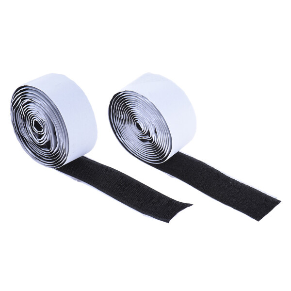 【Hot Sale】Pedalboard Pedal Mounting Tape Fastener Length 2M Width 3CM for Guitar Pedal Board, 2-Pack (1 Hook + 1 Loop) Malaysia