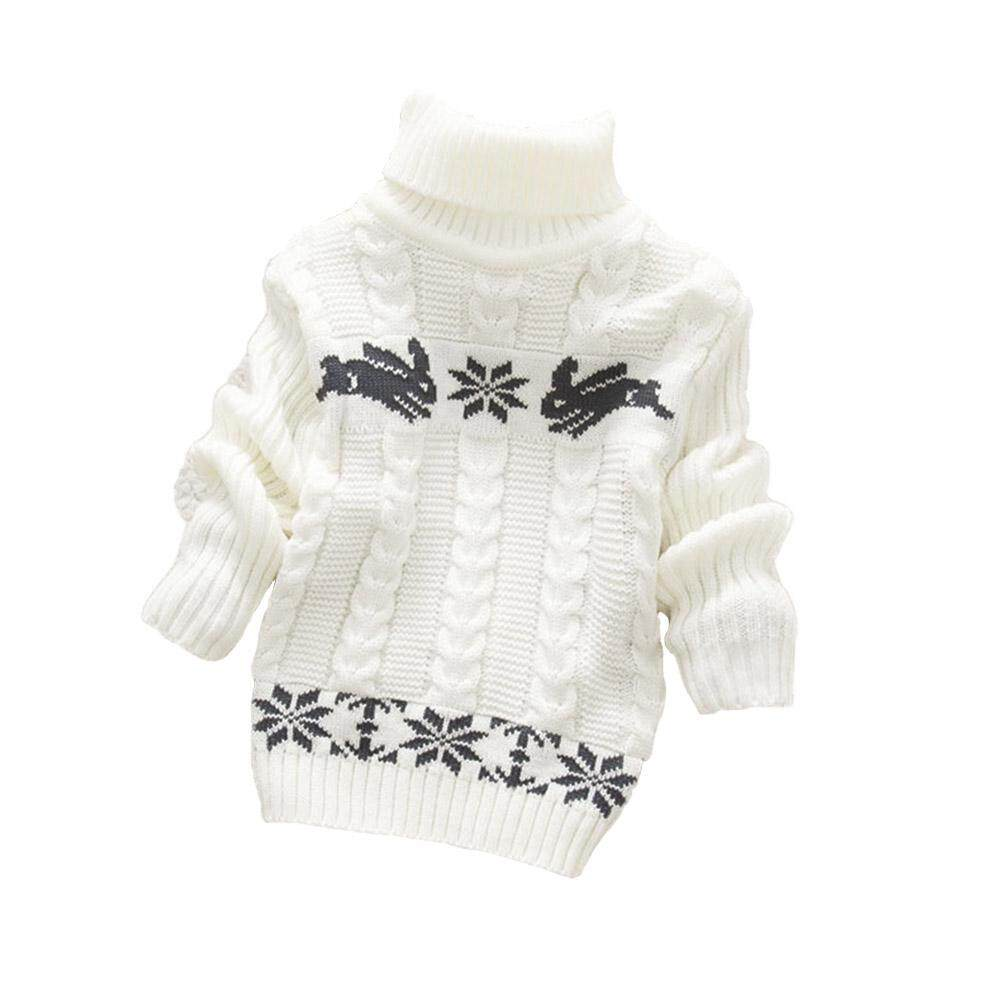 Xiziy Baby Boys Girls Knitting Sweater High Collar Twist Sweaters Fashion Accs