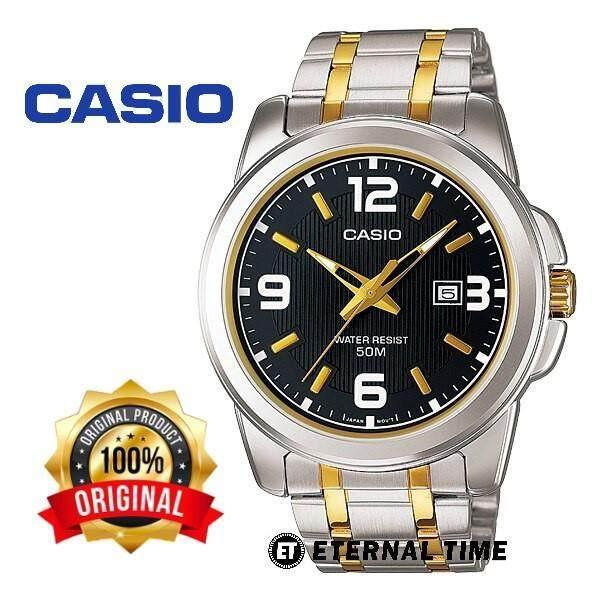 (2 YEARS WARRANTY) CASIO ORIGINAL MTP-1314SG-1A ELEGANT MENS WATCH (WATCH FOR MAN / JAM TANGAN LELAKI / MAN WATCH / WATCH FOR MEN / CASIO WATCH FOR MEN / CASIO WATCH) Malaysia