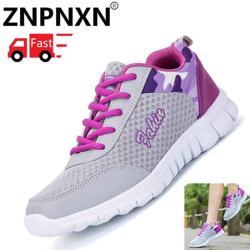 new concept 94128 0e967 ZNPNXN Sneakers For Woman Outdoor Running Shoes Fashion Lightweight  Sneakers Plus Size 35-42