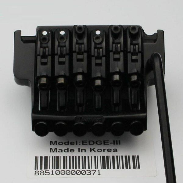 EDGE III Electric Guitar Locking Tremolo System Bridge String lock 43MM For IBZ Black Malaysia