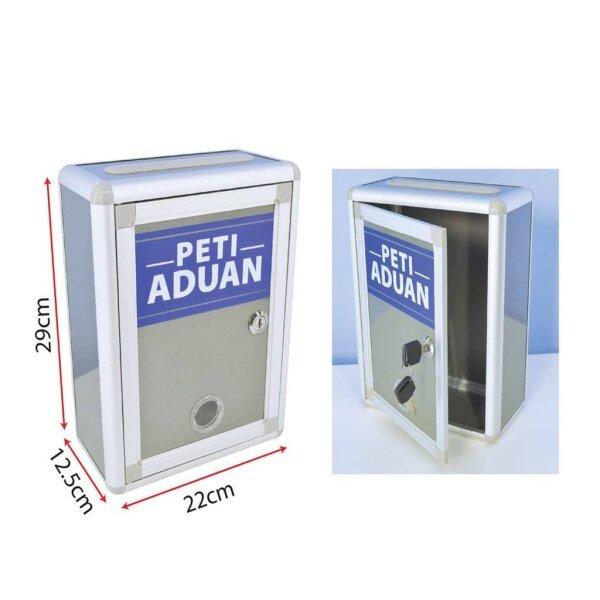 Peti Aduan Bertulis, Complain Box For Letter & Mail