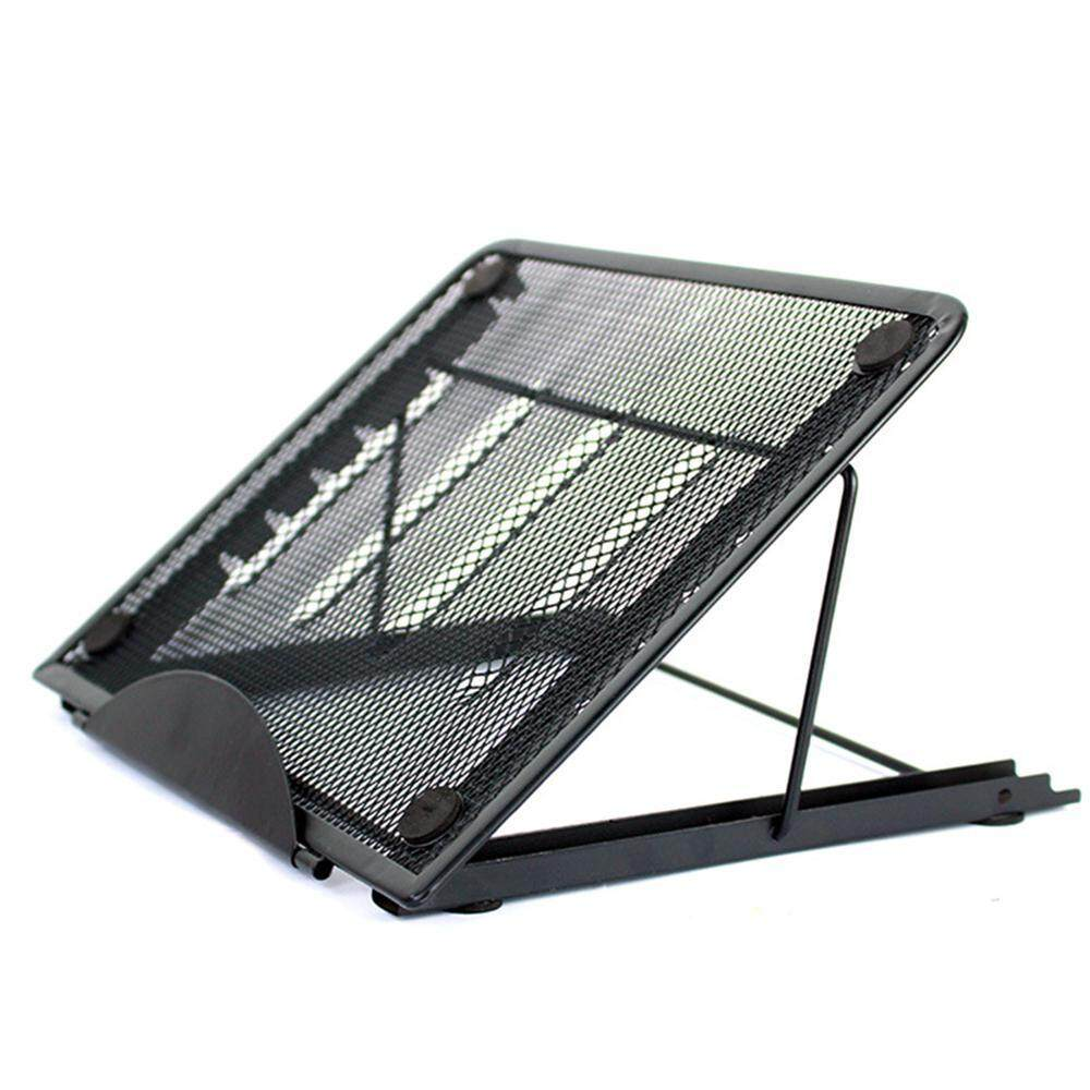 GoodGreat Laptop Holder for Desk, 6-Level Adjustable Laptop Stand, Ventilated Foldable Portable Notebook Stand for Tracing Pad/Laptop/Tablet/Notebook