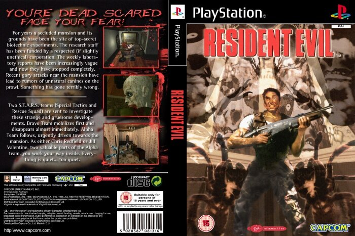 Resident Evil released this week in Gaming History.