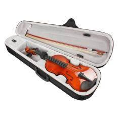 Đàn Vĩ Cầm SLADE Tự Nhiên Kích Thước Đầy Đủ 4/4 Với Hộp Đựng + NƠ + Nhựa Thông Cho Người Mới Bắt Đầu Chơi Violin