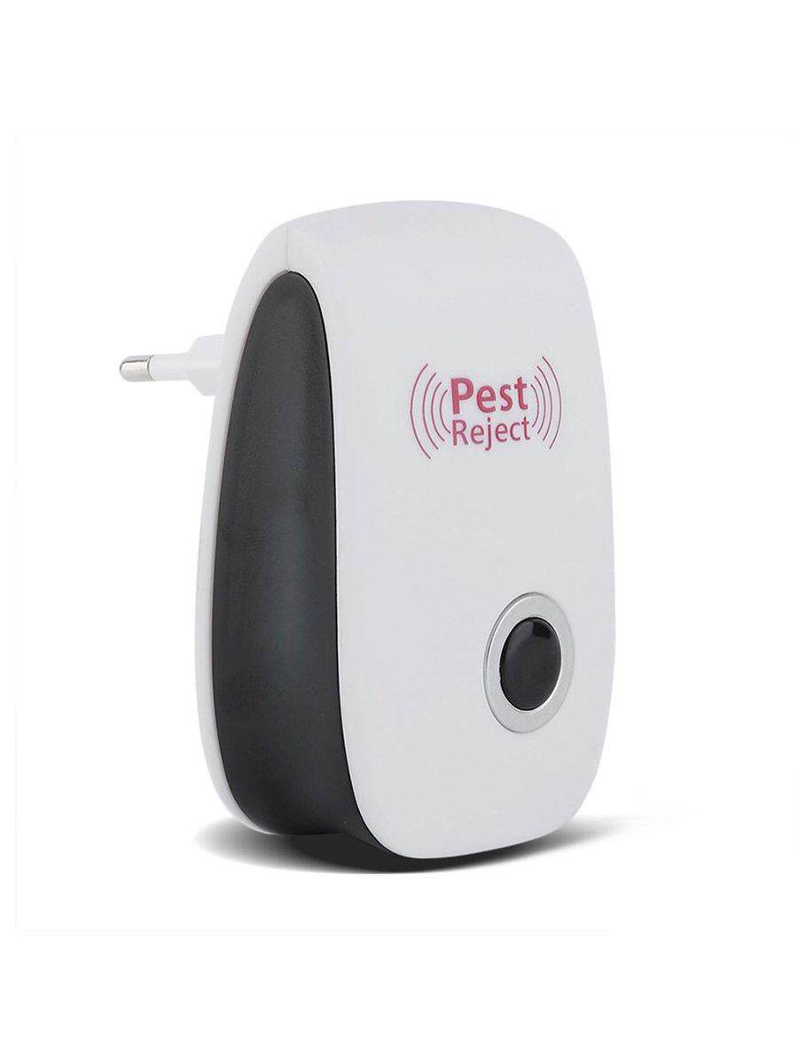 Best Sellers Electric Ultrasonic Mouse Repeller Insect Cockroach Trap Pest Control Device image on snachetto.com