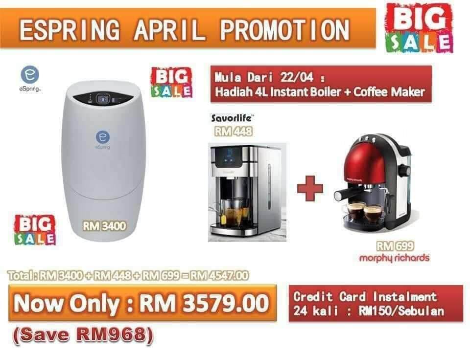 Picked By Us) Amway water filter promotion malaysia