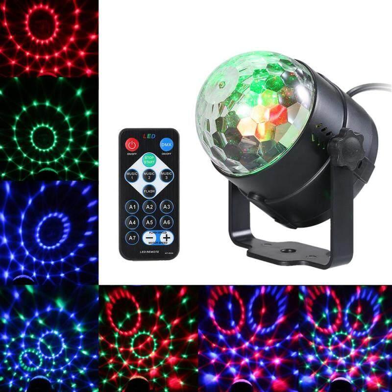 Bóng Đèn LED Ma Thuật Mini Điều Khiển Từ Xa RGB 3W Đèn Hiệu Ứng Sân Khấu Cho Bữa Tiệc Tại Nhà Câu Lạc Bộ KTV Sàn Nhảy
