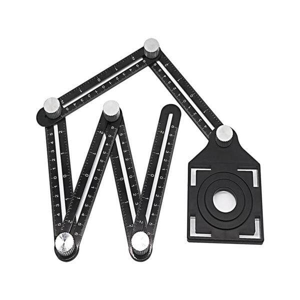 Universeller sechsseitiger Winkelmess-Locator Fliesenloch-Locator Tile hole locator