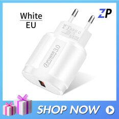 Sạc Nhanh QC 3.0 Bộ Sạc USB US EU Bộ Sạc Điện Thoại Di Động Phổ Biến Bộ Sạc Tường Nhanh Cho iPhone Samsung Xiaomi