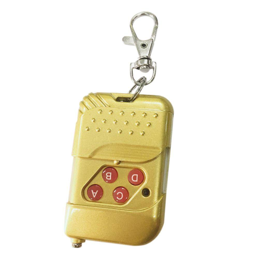 Blesiya Gold Remote Control 4 Buttons 433mhz DC 12V Alarm Remote Controller