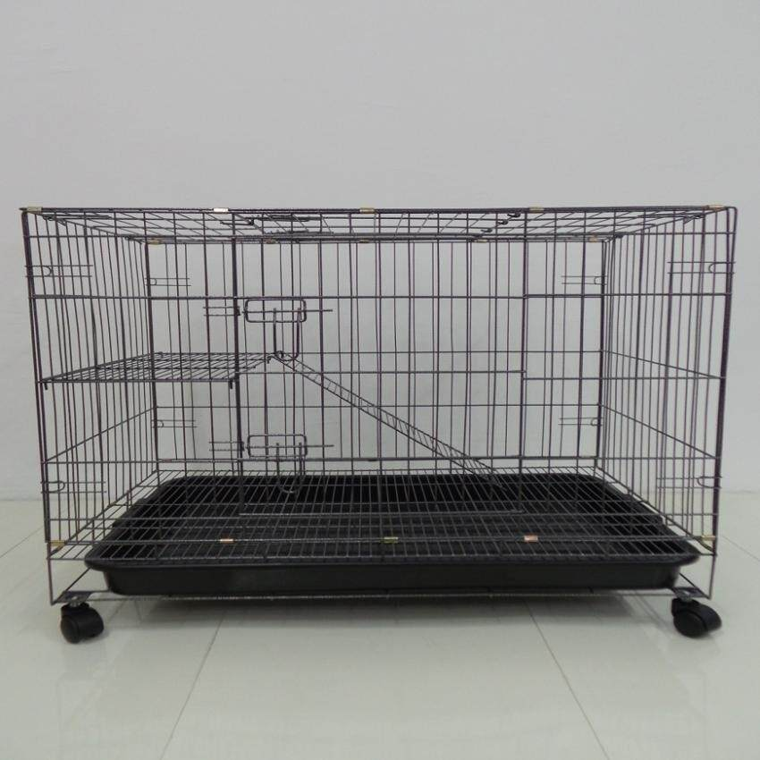 355 Pet Cat Dog Rabbit Cage Wrought Iron 30(l) X 21(w) X 27(h) By Xen Trading.