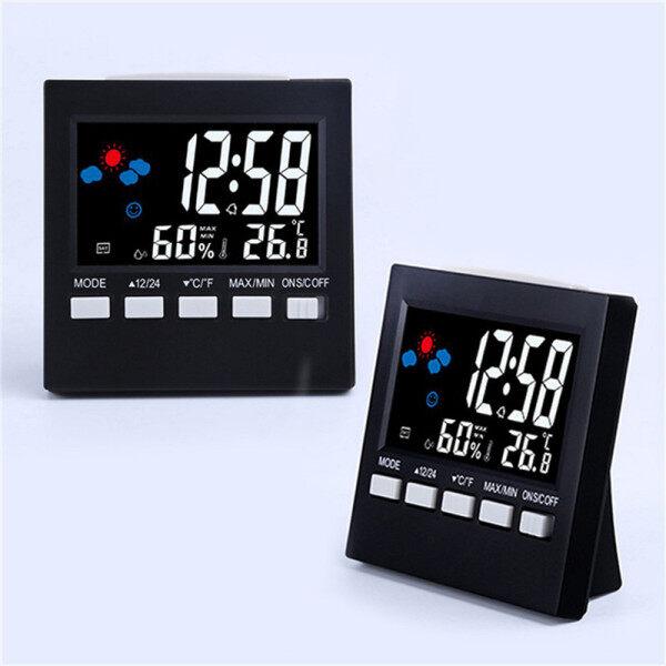 Nơi bán 【Alarm Clock】Time Đồng Hồ, Dự Báo Thời Tiết Nhiệt Độ Nhiệt Độ Đo, Điều Khiển Bằng Giọng Nói Cho Phòng Ngủ Gia Đình