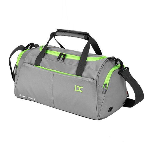 18L Waterproof Travel Duffele Bag with Separate Shoe Compartment for Men Women Sports Gym Tote Bag