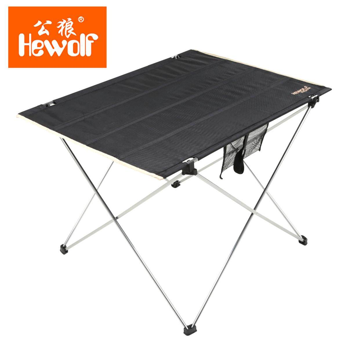 Portable Foldable Aluminium Table Camping Outdoor Fishing Table