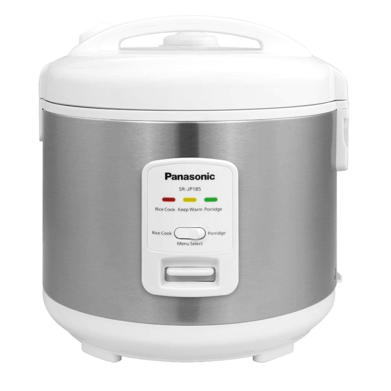 Panasonic 1.8L Mechanical Jar Rice Cooker SR-JP185SSK Silver Color