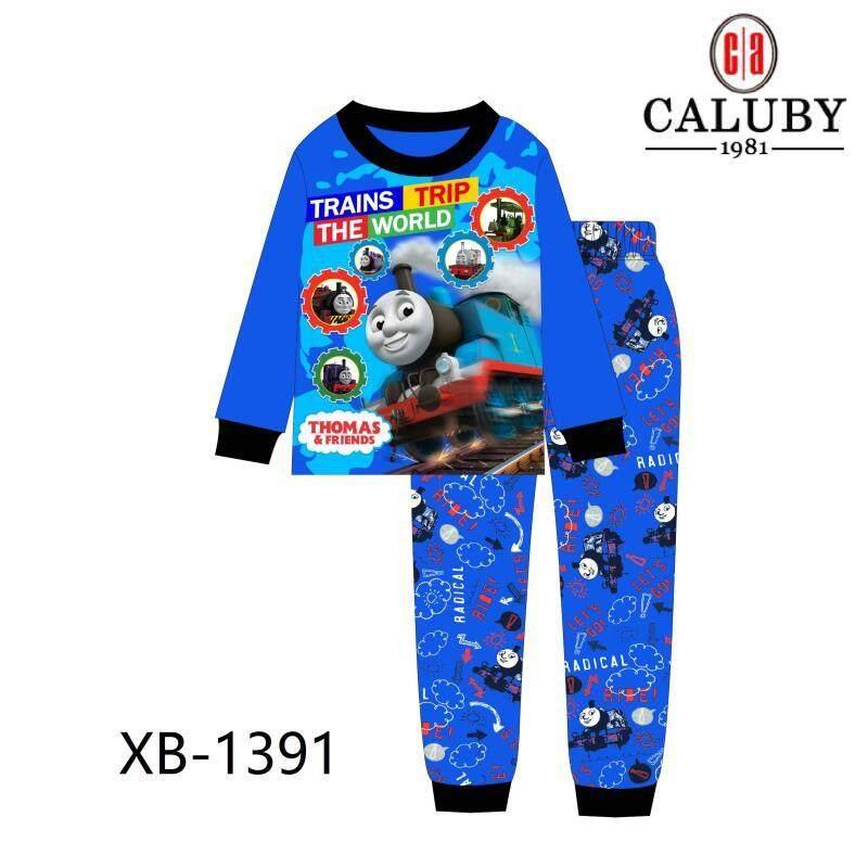 [s&s] Caluby Sleepwear Pyjamas/pajamas - Thomas & Friends By Sun & Stars Kids Wear.