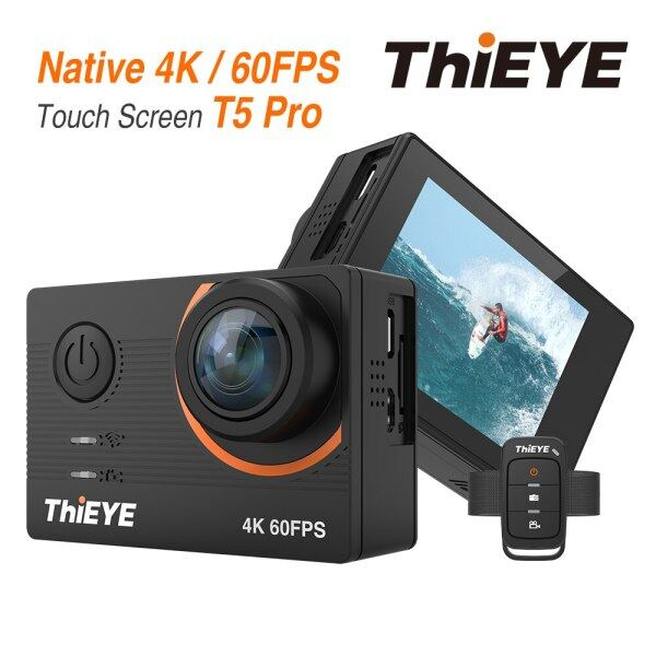 Thieye T5 Pro Real Ultra Hd 4K 60Fps Touch Screen Wifi Action Camera With Live Stream Remote Control 60M Underwater Web Camera