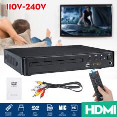 Đầu DVD HDMI 10-240V Đầu Phát CD Video USB Với Giao Diện USB Ổ Đĩa DVD CD Giao Diện MIC + 1 Điều Khiển Từ Xa + 1 Cáp AV